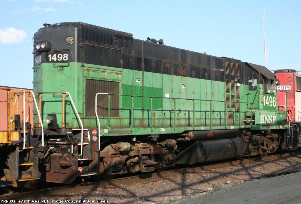 BNSF 1498 DIT