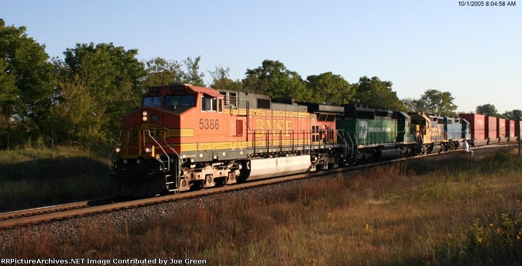 BNSF 5386
