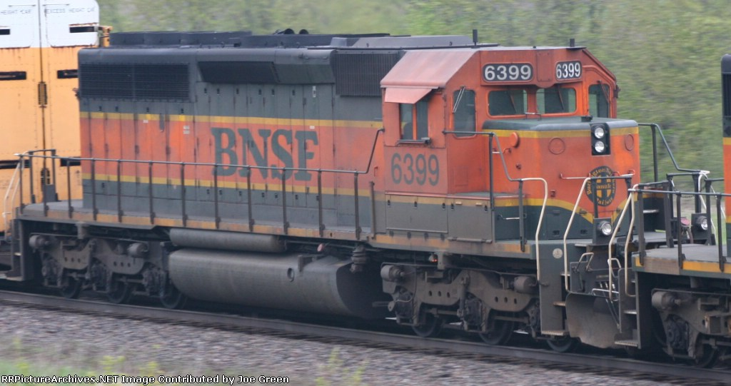BNSF 6399
