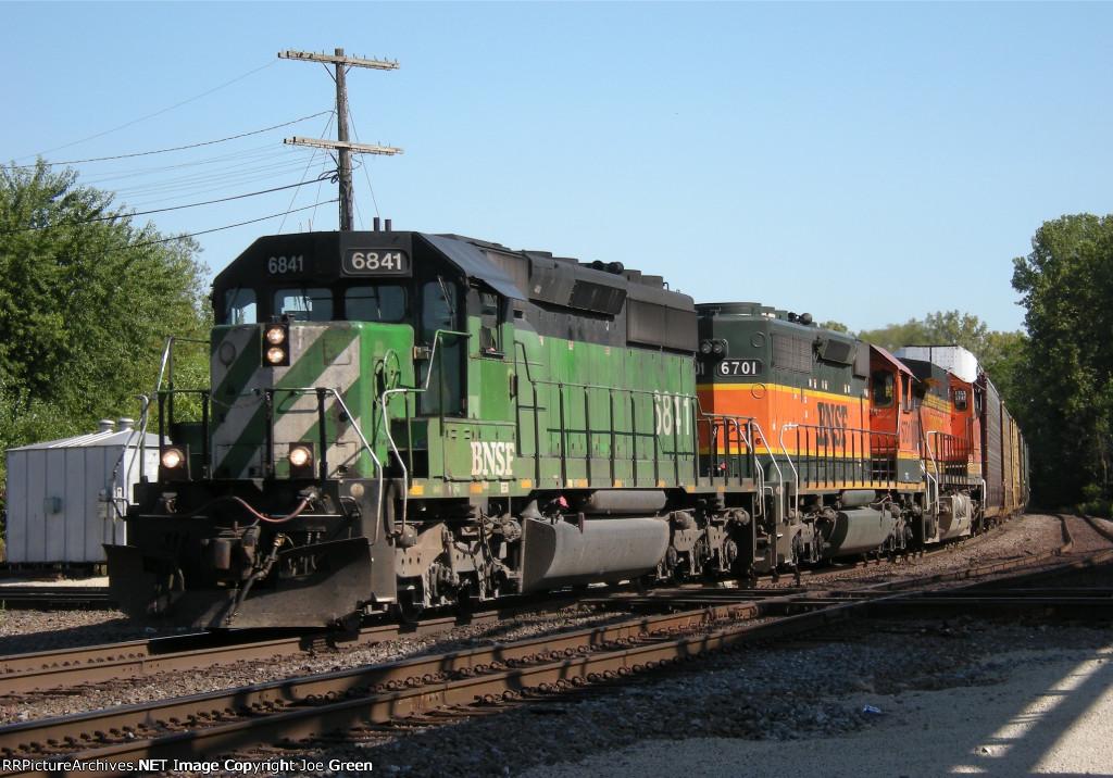 BNSF 6841