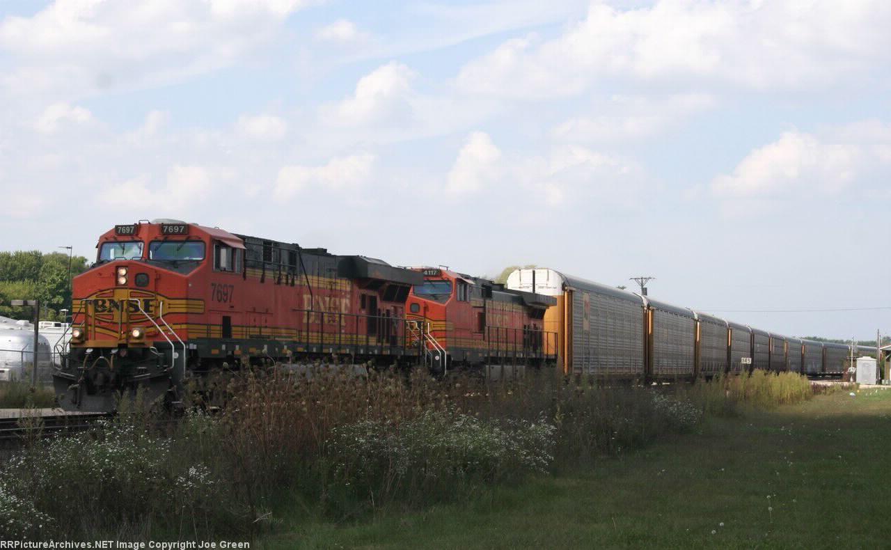 BNSF 7697