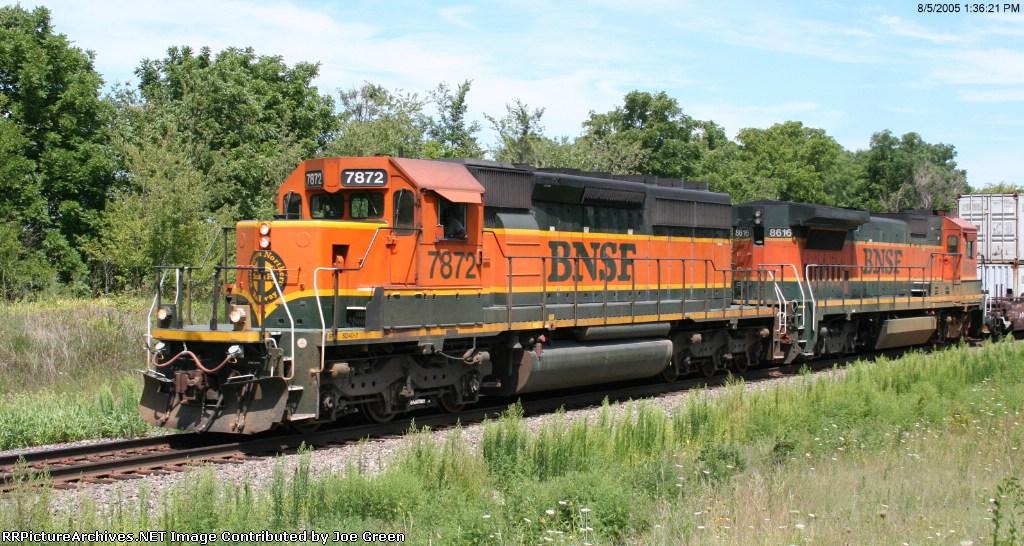 BNSF 7872