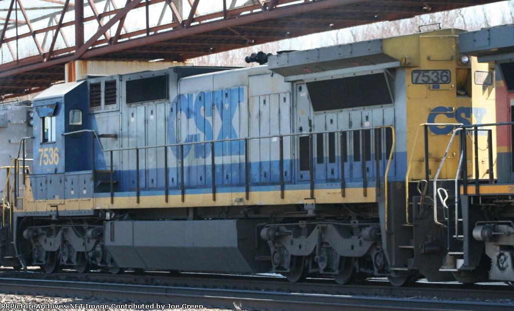 CSX 7536