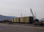 Former US Army boxcars