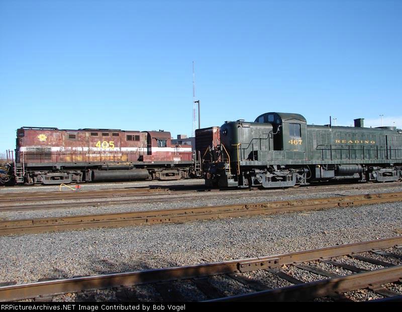 DL 405 & RDG 467