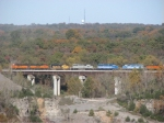 BNSF 2031 across the quarry at Buncombe, IL