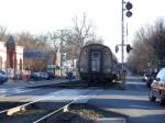 Amtrak Passes Through