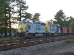 CSX 6441 and Slug 2214