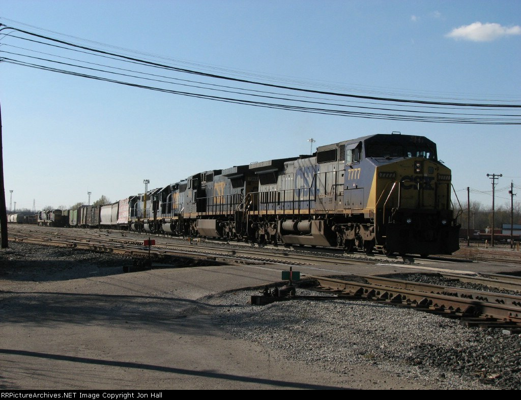 Q326 rolling out of the yard