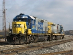 CSX 1507 & 9135 heading for the house