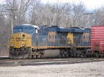 CSX 5464 & 5441 hiding at the west end