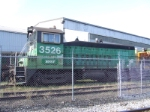 BNSF 3526