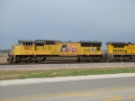 UP 5102 Leads WB K-Line Stacks