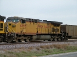 UP 6795 Is #2 On WB Coal Empties