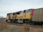 UP 7146 & 8108 Going WB With NSPX Empties
