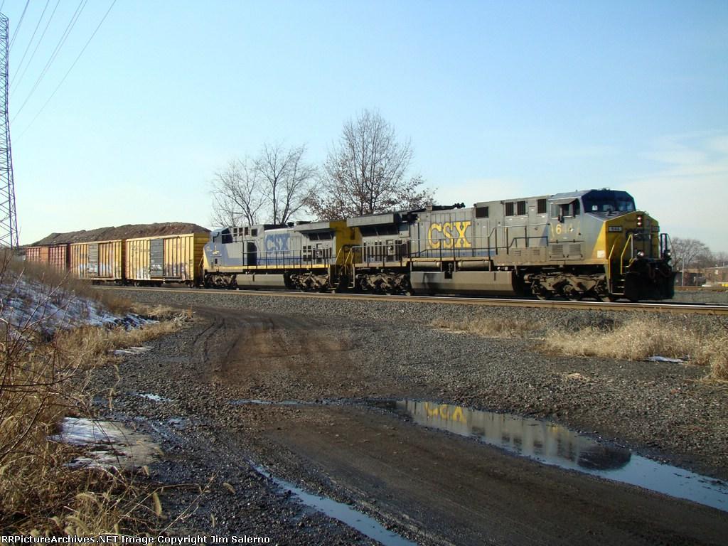 CSX 644 and CSX 1