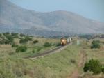 Eastbound north of Carrizozo along the Tucumcari Line