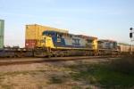 CSX 344 on grain train