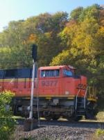 BNSF 9377 East
