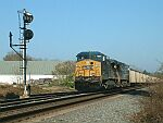 CSX Coal Train waits