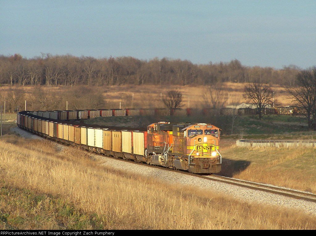 Southbound KCS Loaded Coal Train With BNSF Power Headed Into the Plant