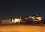 Local Assigned Locomotives Under the Stars