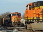 Northbound KCS Empty Coal Train Meets a Southbound KCS Loaded Coal Train