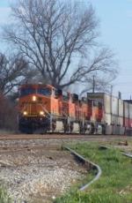 Westbound BNSF Intermodal