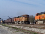 Eastbound BNSF Empty Grain Train