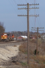 Westbound BNSF Intermodal on The Transcon