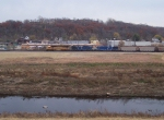 Northbound BNSF Empty Coal Train
