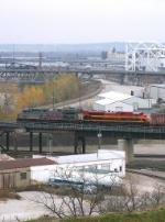 Westbound UP Empty Grain Train
