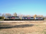 KCS Locomotives at Knoche Yard