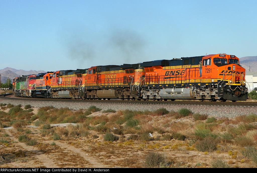 BNSF 7291+9