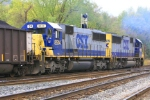 CSX SD50's 8514 & 8575 shove 140 loads toward D.C.