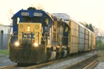 CSX 8090 and the Q217-04 at Satterwite (Rte 28)