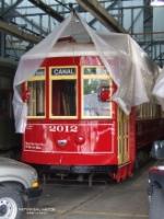 NORTA streetcar 2012