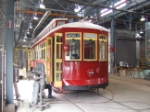 Streetcar 2022 is next to be sanded