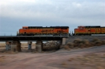 BNSF 7563 East approx.