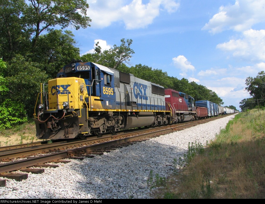 In the siding at Roselawn, Indiana