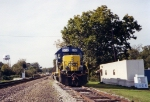 CSX winder switcher by the yard office
