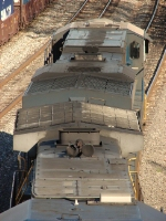 overhead view of csx power
