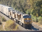 """UP  """"Juice"""" train at 51st int on the B&OCT"""