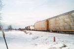 Odd Sight for an Auto Rack Train