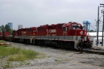 Aluminum Ingot Train at ex L&N yard in Lexington