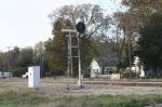 An amazing searchlight semaphore signal
