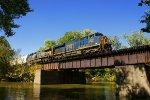 Q648 crosses Snag Creek Bridge