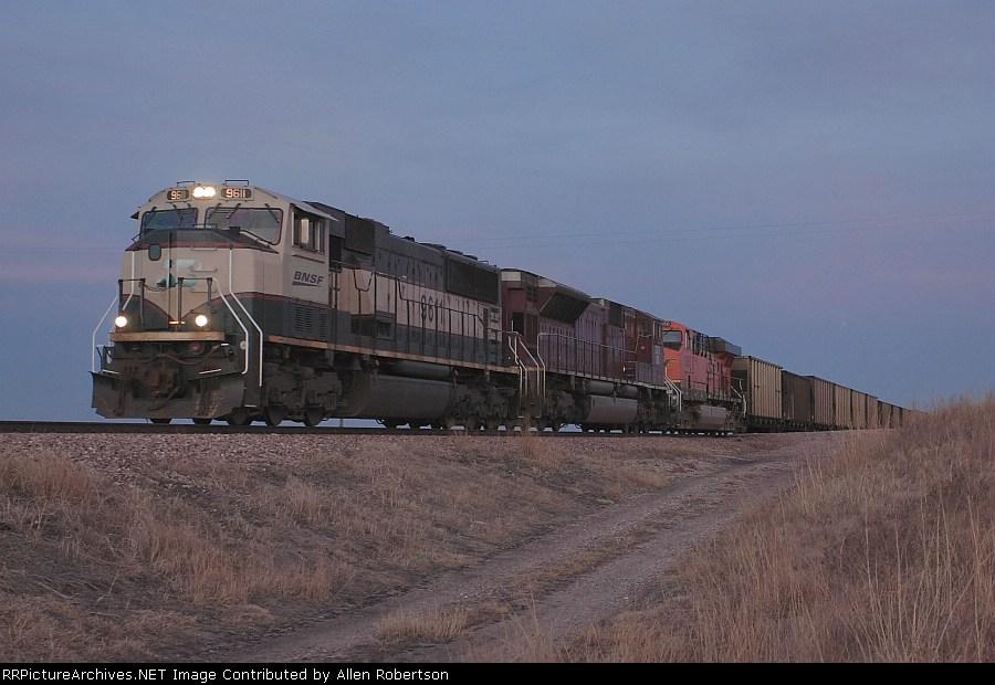 BNSF 9611