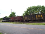 US Rail #112 switches cars