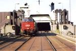 "Switching onboard trainferry ""trekroner"""